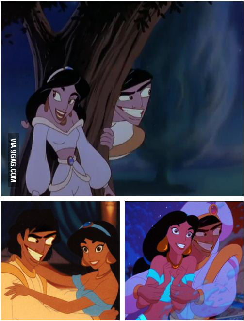 What if Aladdin always looked like that?