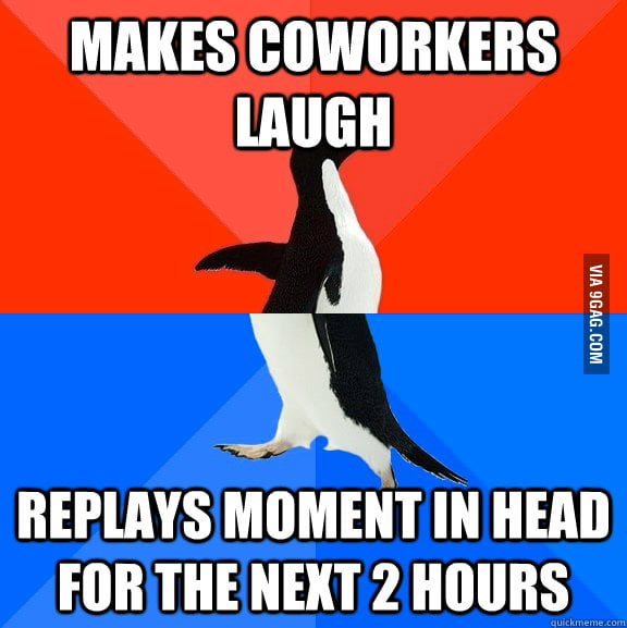 Happened to me at work today