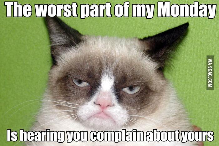 Grumpy Cat Mondays