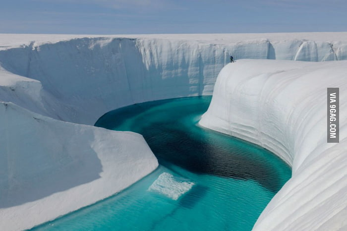 Greenland's Birthday Canyon