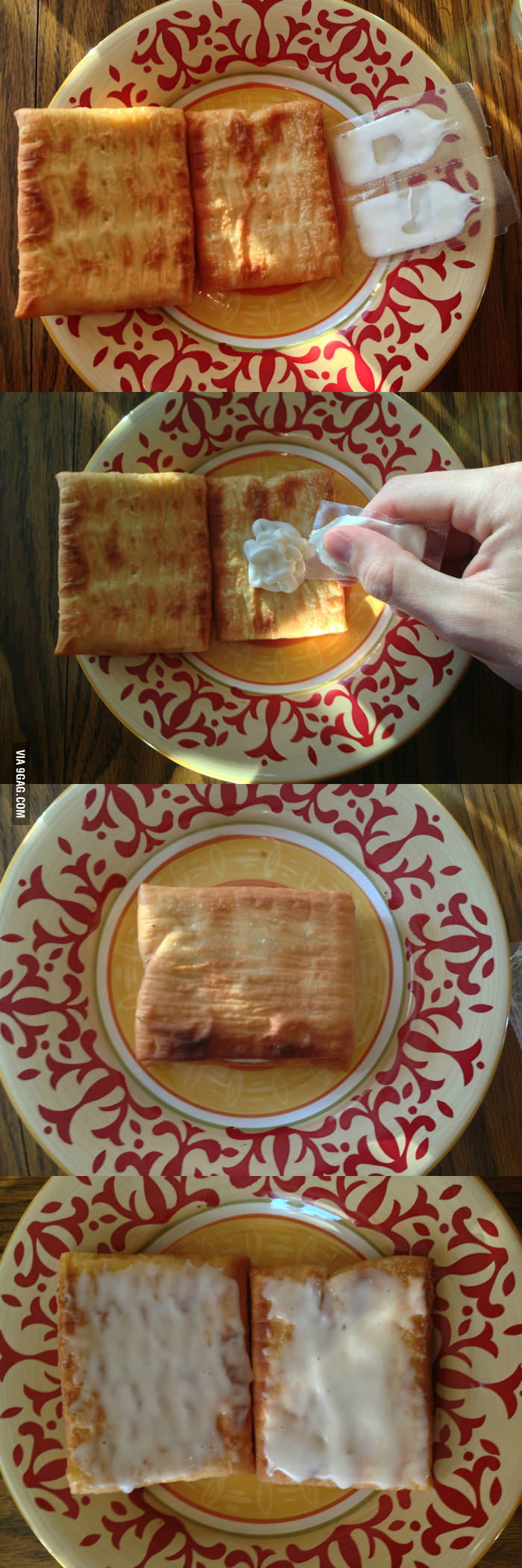 How to properly apply icing to your Toaster Strudels