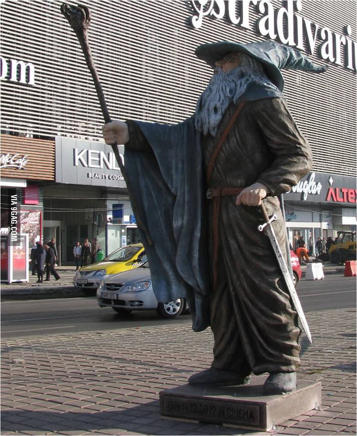 Gandalf greets you