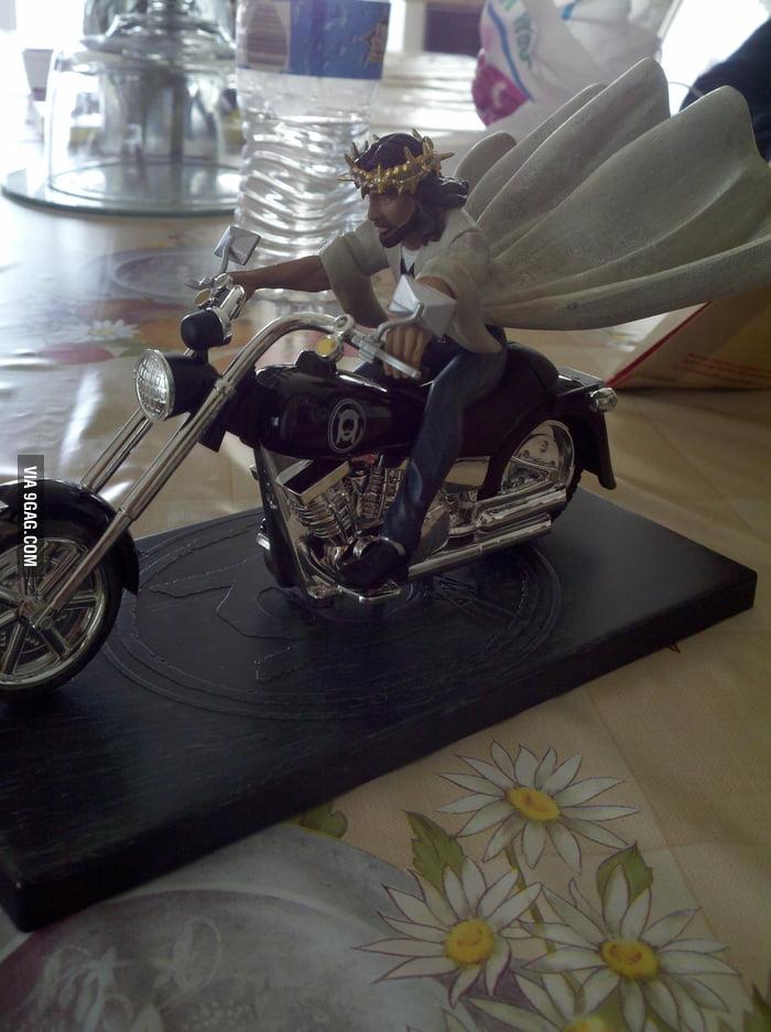 Jesus is a rider!