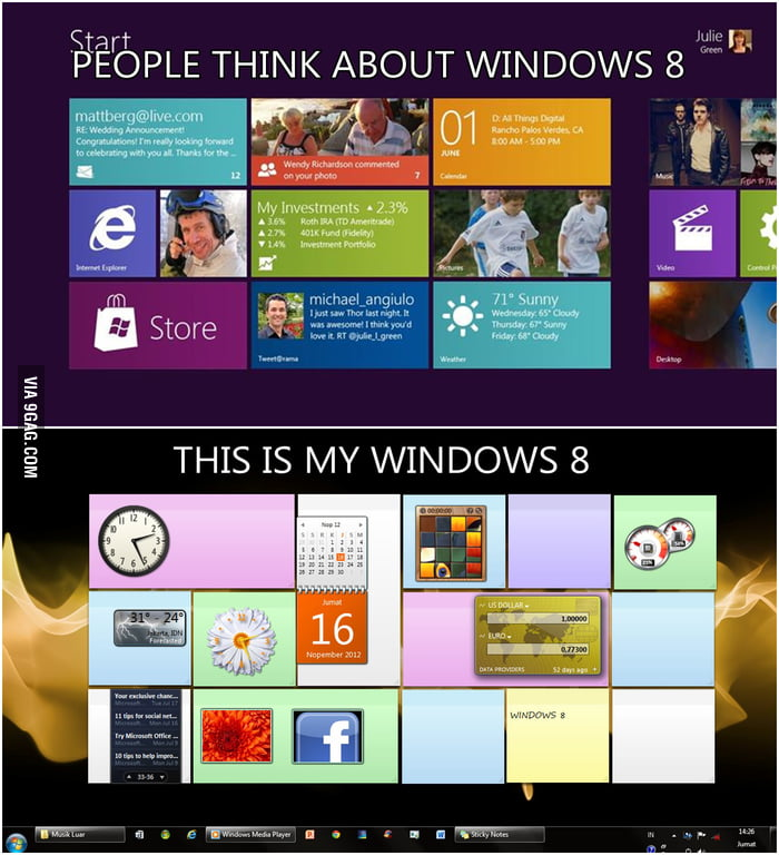 People think about windows 8 , this is my windows 8