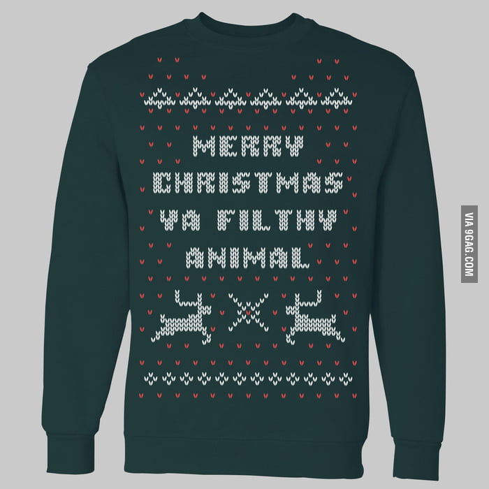 Awesome Home Alone Christmas Sweater Crewneck