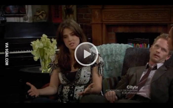 So I was watching himym and paused...