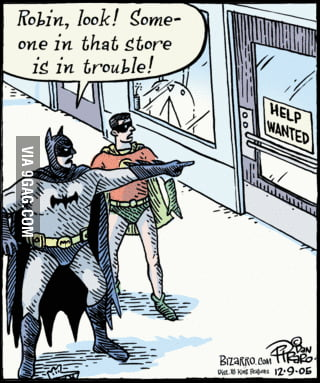 Batman is always willing to help