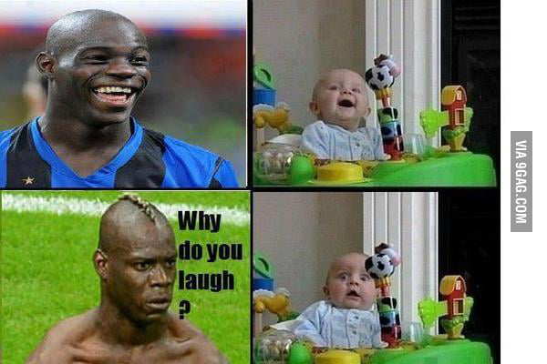 WHY DO YOU LAUGH?