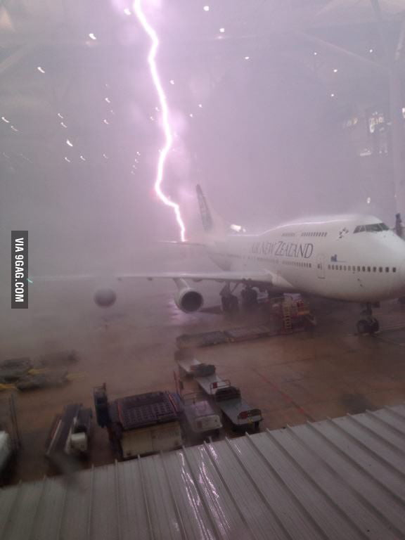 This is why the airport is closed.