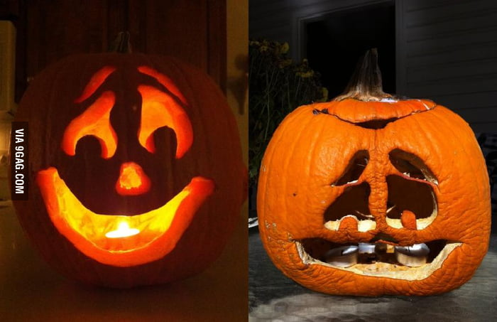 Pumpkin doesn't age very well.