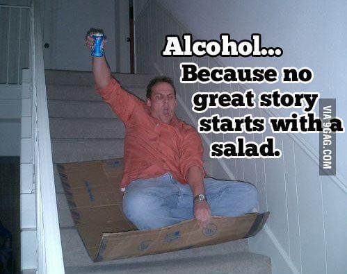Alcohol...