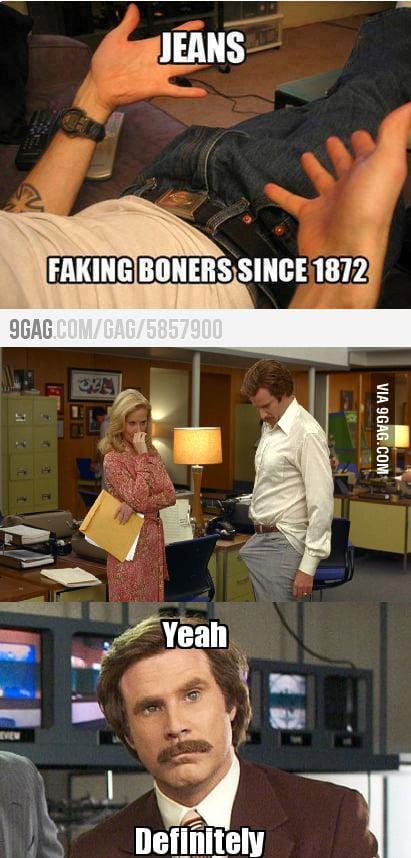Yeah... damn pants...