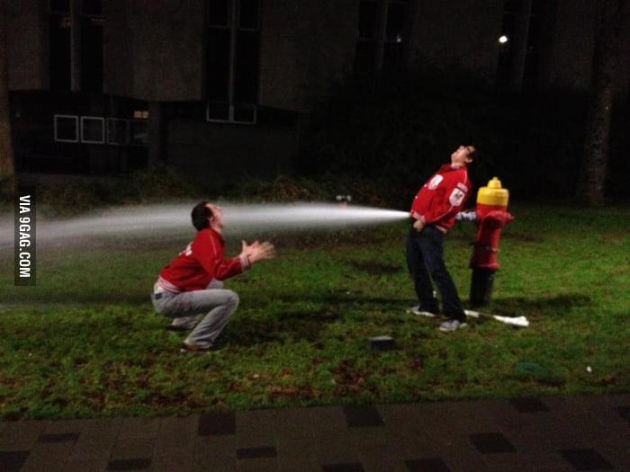 We found a fire hydrant last night.