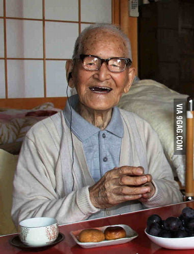 Jiroemon Kimura will be the oldest man ever on Dec 28, 2012.