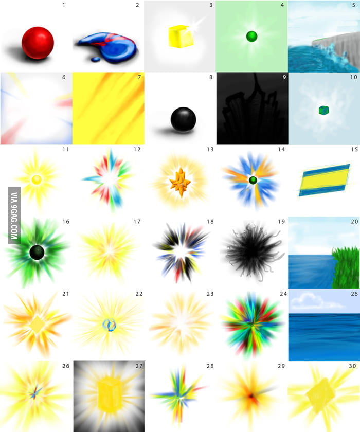 How people with synesthesia see numbers.