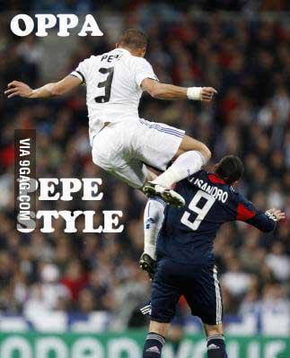 Pepe at his best!