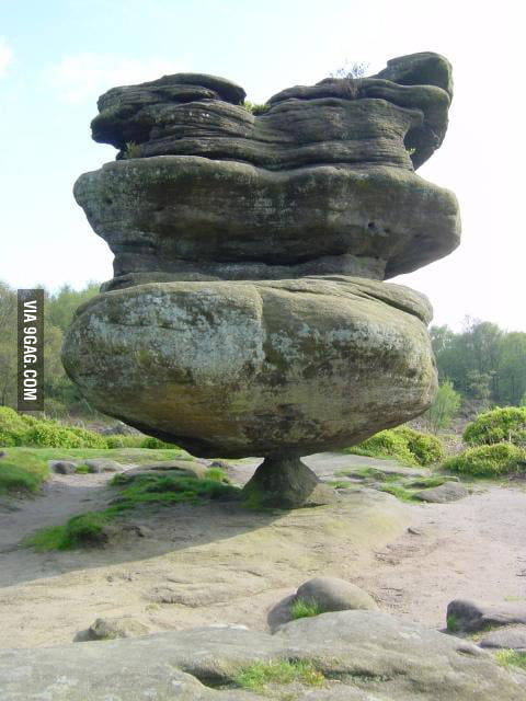I see your stone in Finland and raise you Idol rock in Engla