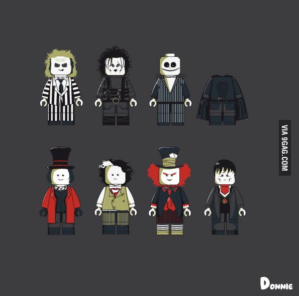 Tim Burton's Legocy