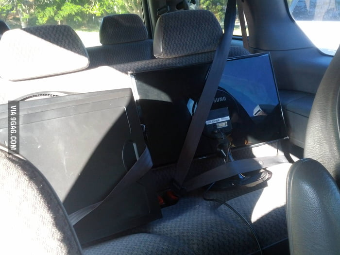 You always need to buckle up for safety.