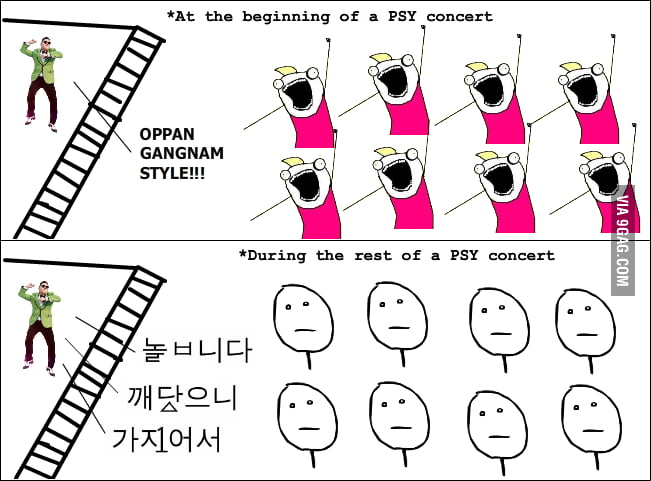 Reality of a PSY concert