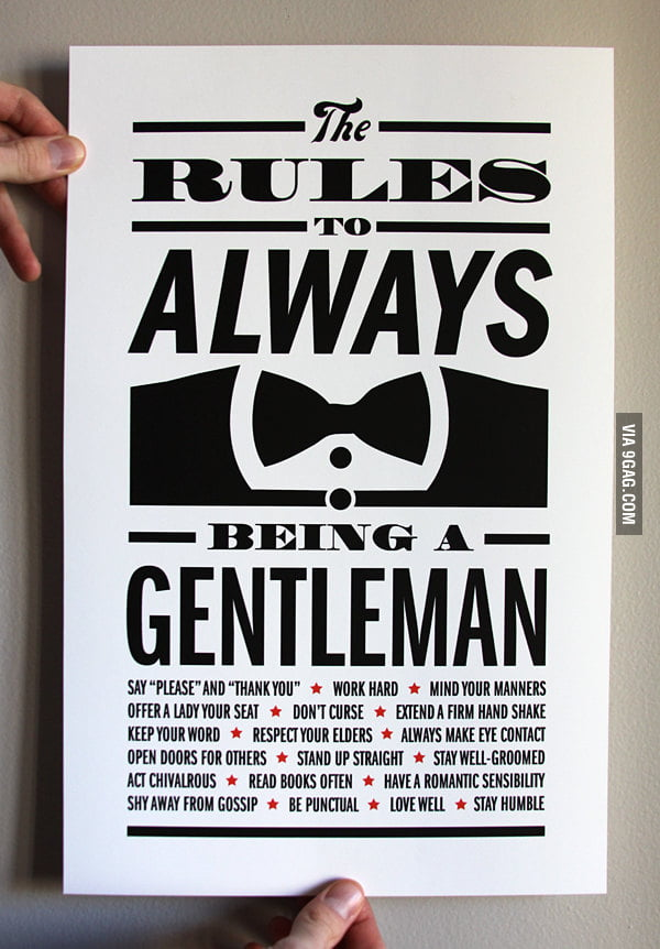 Gentleman Rules