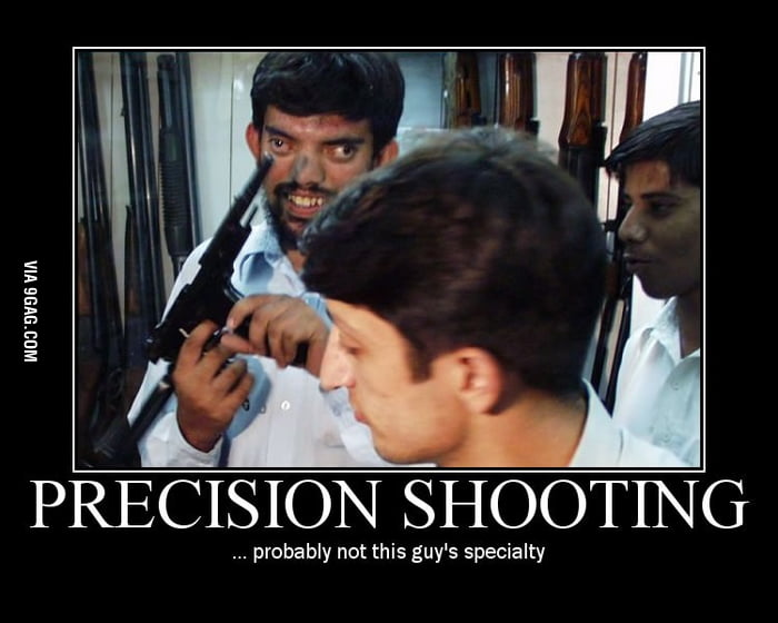 Precision shooting at its finest