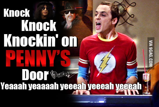 Sheldon Cooper's life as a rock song