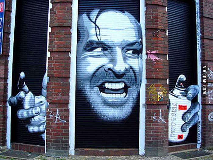 Shinning Street Art