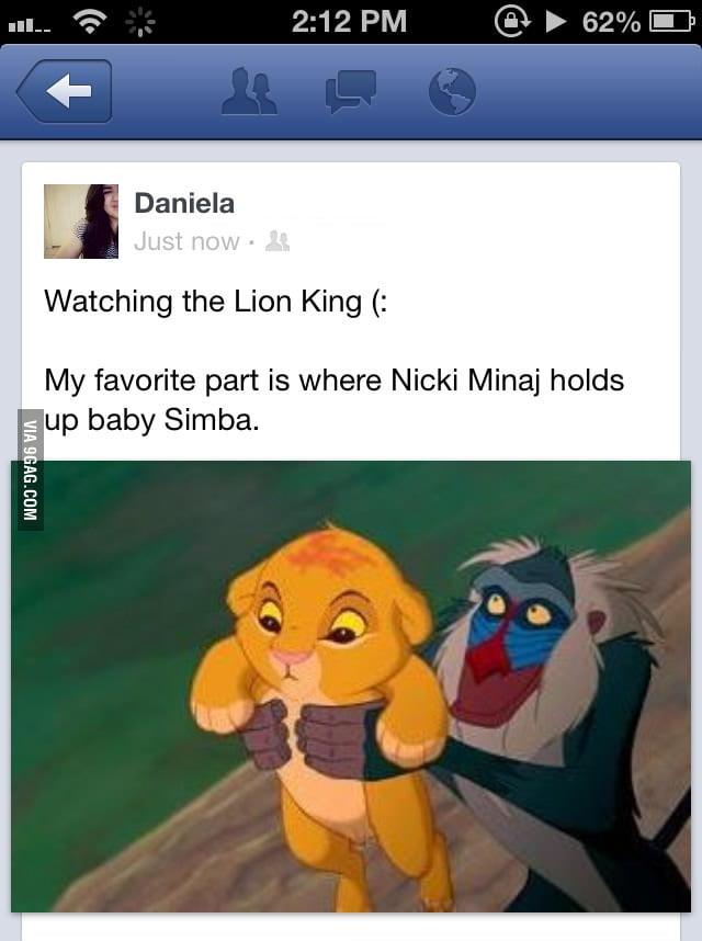 Poor Simba