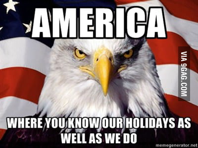 To all the foreigners out there today.