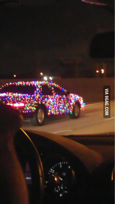 Some people are just so excited about Christmas
