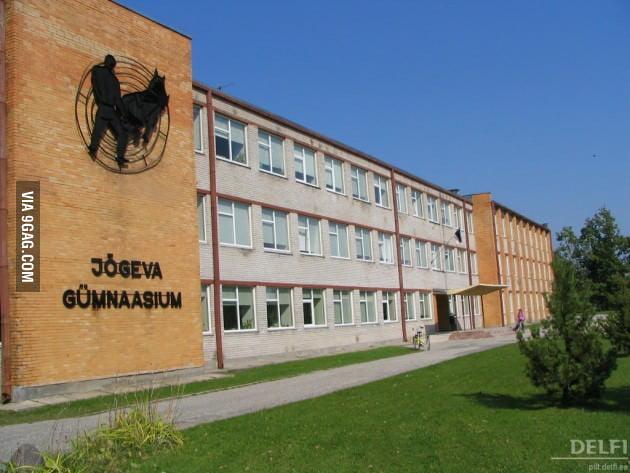Just a school logo in Estonia