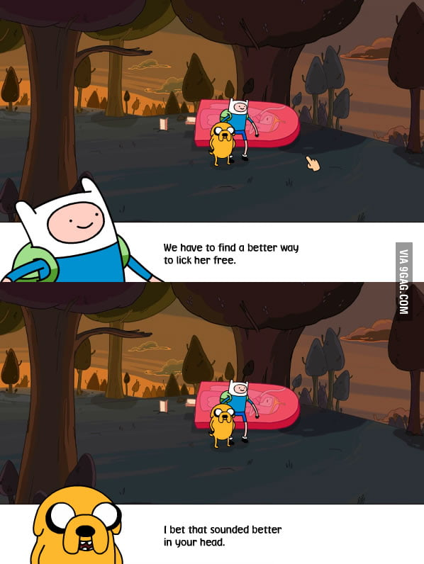 No one believes me when I say Adventure Time is for adults.