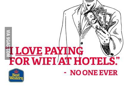 Nice ad, Best Western.