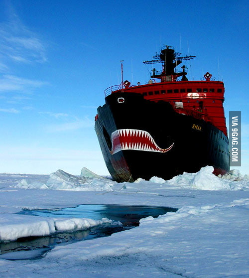 Nuclear Powered Russian Icebreaker