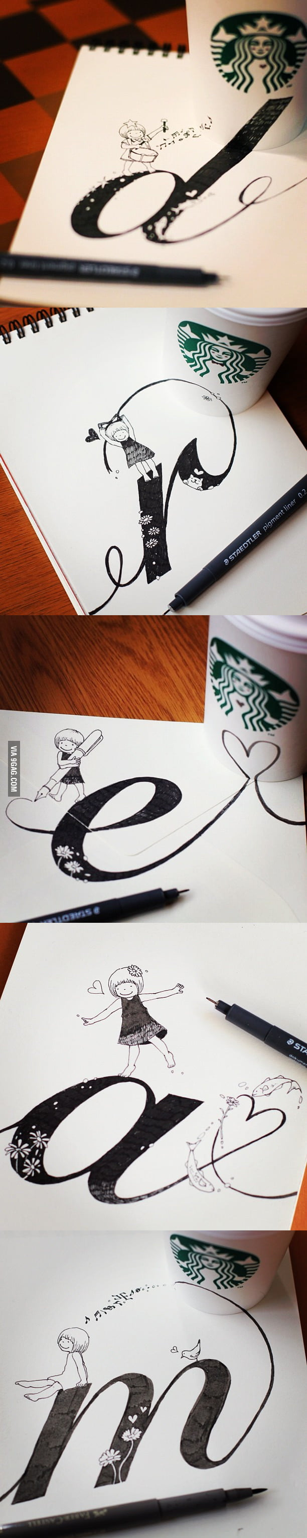 Starbucks Art: Dream