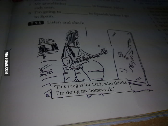 Something that was on my English book