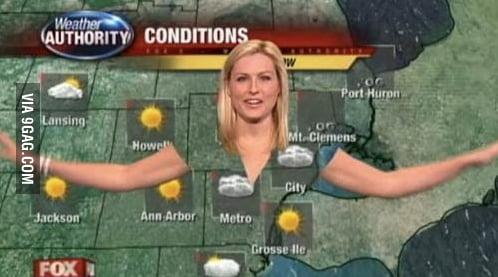 I am the weather b*tchess