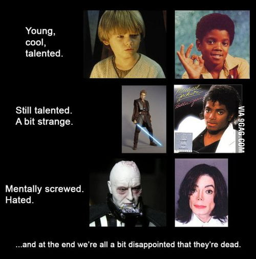 Darth Vader Vs Michael Jackson