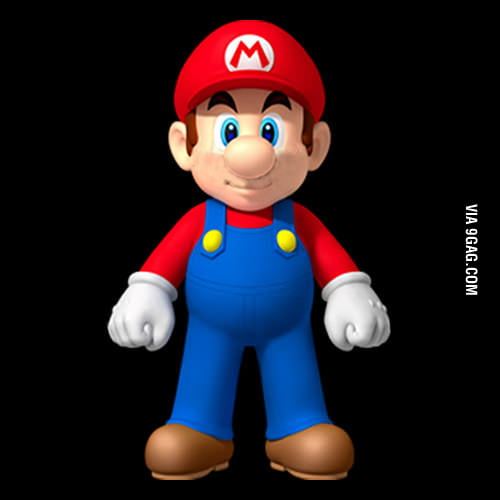 Mario without mustache is toally another guy.