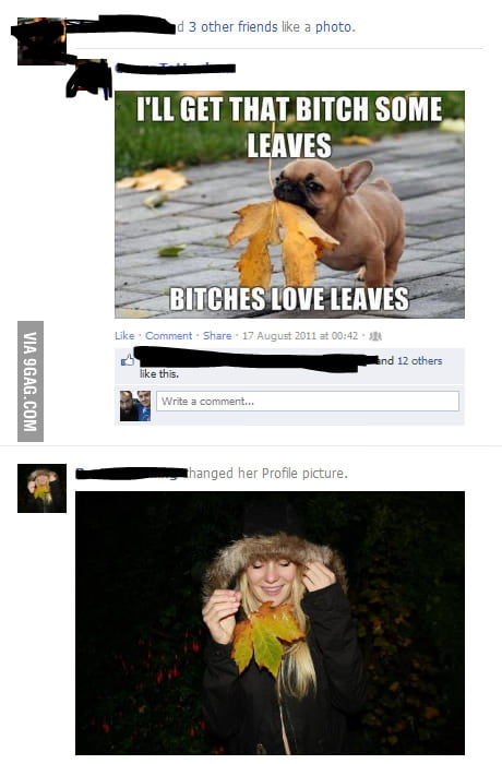 B*tches love leaves