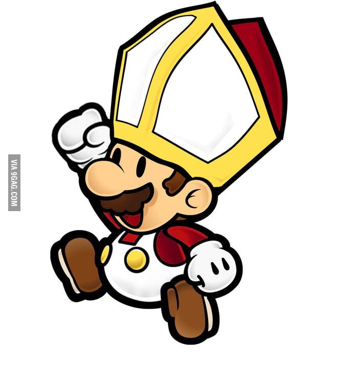 Papal Mario!