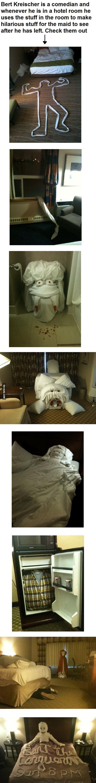 Hotel pranks