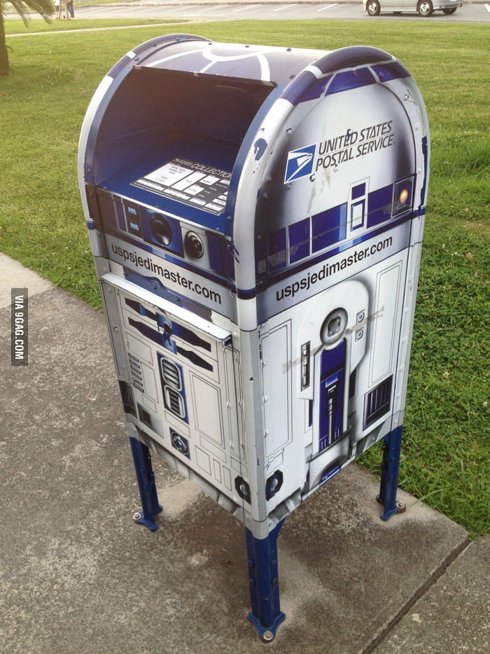 Awesome mailbox in a local military base.