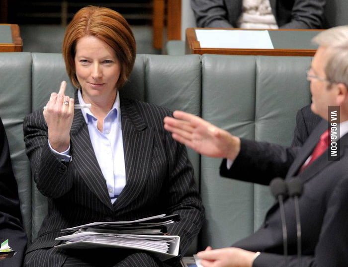 This is Julia Gillard, the Prime Minister of Australia.