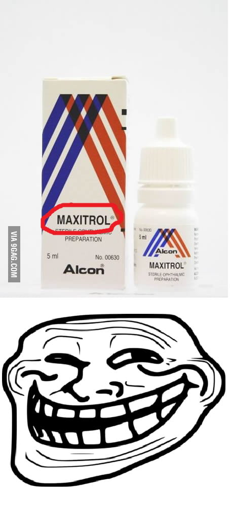 Eye Drops - You go blind after using them!