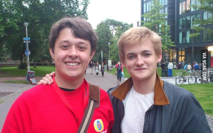 Met Prince Joffrey today. He's a nice guy!