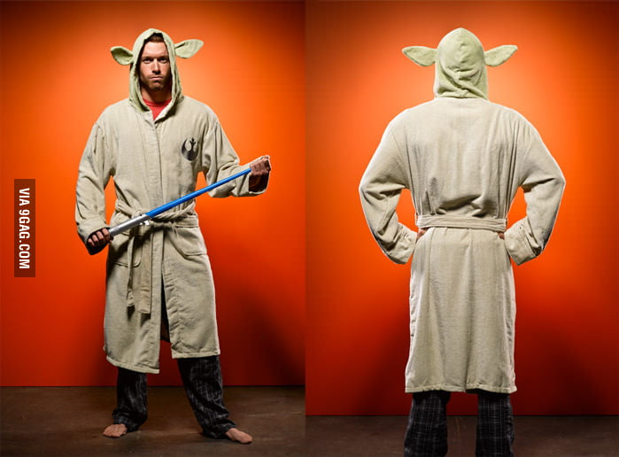 Star Wars Yoda Bathrobe