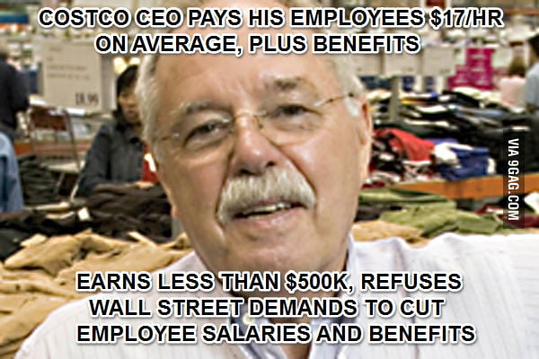 Good Guy Costco CEO