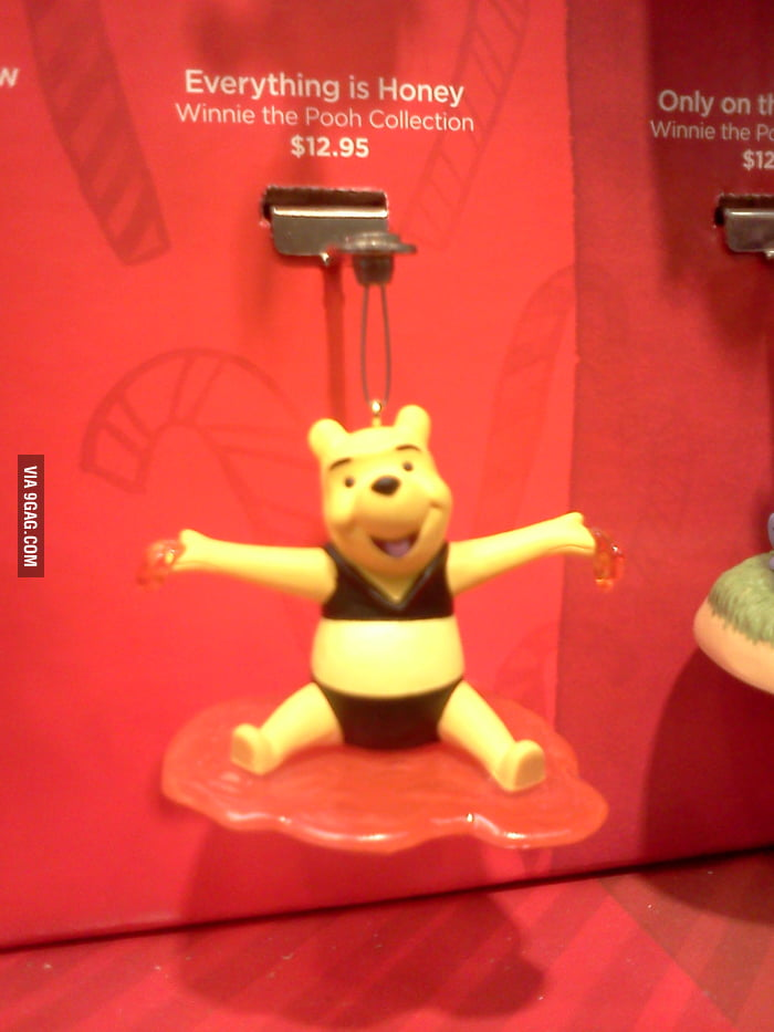 Dear Hallmark, why is Winnie the Pooh wearing a bikini?